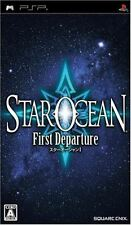 Used PSP Star Ocean: The First Departure  SONY PLAYSTATION JAPAN IMPORT
