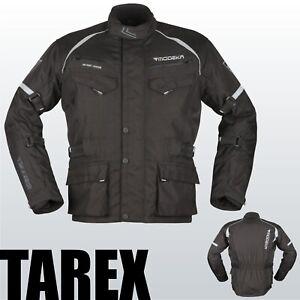 Modeka Motorradjacke TAREX 2021 schwarz wasserdicht Thermofutter Motorrad Jacke