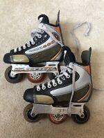 Omni 600 Tour Inline Hockey Skates Size 1 Hockey Skates