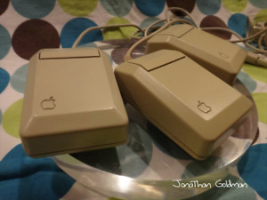 Apple Mouse Vintage for Beige Desktop IIe Macintosh Mac Serial M0100