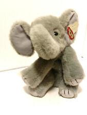 VINTAGE 1997 TY CLASSIC SPOUT BABY GREY ELEPHANT STUFFED ANIMAL PLUSH TOY LOVEY