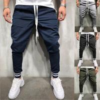 Men's Casual Jogger Dance Sportwear Baggy Pants Slacks Trousers Sweatpants USA