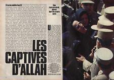 Coupure de presse Clipping 1983 Iran les captives d Allah (8 pages)