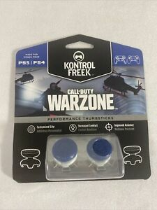 Call Of Duty Warzone Kontrol Freek Clear Performance Thumb Grips PS4 PS5