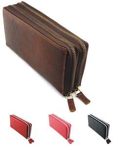 Damen Echt Leder Portemonnaie Brieftasche,Geldbörse,Wallet SJ-V15