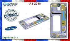 SAMSUNG A530F/DS GALAXY A8 2018 DUOS CHASSIS FRAME, BLEU , GH96-11295C