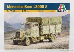 MERCEDES BENZ L3000S TELONATO TRUCK MILITARY 1944 SCALA 1/35 ITALERI IT6858