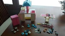 Vintage 1984 Barbie Dream Kitchen, Food, Tea Set, Accessories