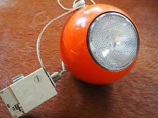 Erco Orange Strahler Panton Space Age Lounge Lampe Eames 70er Sputnik Designer