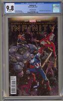 Infinity 1 CGC 9.8 Arthur Adams Color Variant Avengers War Gauntlet Endgame 234