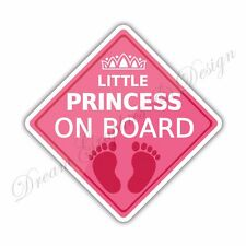 Baby on Board Full Color Adhesive Vinyl Sticker Window Car Bumper 032