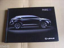 Lexus Paris Motor Show 2008 (u.a. LF-Xh, IS250C...) Pressemappe / Press-kit, GB