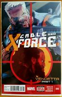 CABLE and X-FORCE #18 (2014 MARVEL Comics) ~ NM Comic Book