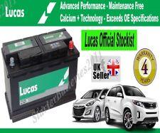 Lucas LF096 12V 70Ah 760CCA AGM VRLA Car Battery fits JAGUAR BJ3210655BA