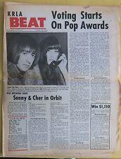 KRLA BEAT Vol 1 No 32 Oct 1965 Beatles We Five Frank Zappa Stones Bobby Sherman