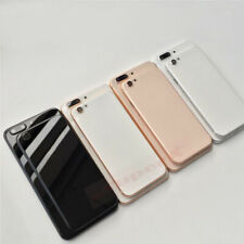 New Back iPhone 6 6s Replace To iphone 8 8 Plus Door Metal Glass Battery Housing