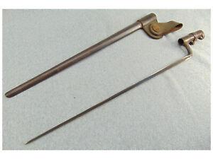 SOCKET BAYONET SCABBARD US 1 FROG TRAPDOOR 45-70 SPRINGFIELD RIFLE