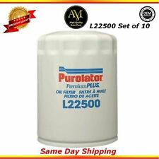 L22500 Oil Filter Set of 10 For 09/16 Chevrolet GMC Lincoln 4.3L 5.3L 6.2L