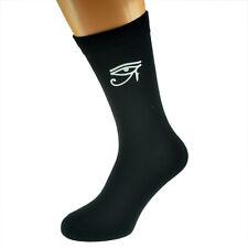Eye of Horus Mens Black Socks X6N389