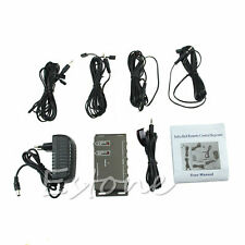 8 Emitters 1 Receiver IR Remote Extender Infrared Repeater Hidden System Kit EU