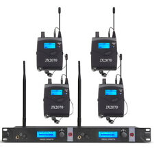 Pro Audio Uhf Wireless In Ear Monitor System Monitoring Type 4 Receiver