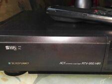 Blaupunkt S VHS  ACT RTV-950 HIFI Videorecorder mit FB ungeprüft