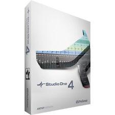 NEW Presonus Studio One 4 Artist DAW PC/MAC