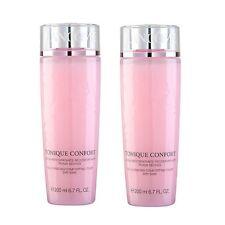 2x Lancome Tonique Confort Rehydrating Comforting Toner 2x 200ml 6.7oz New