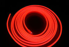 2M12V Red Neon LED Light Glow EL Wire String Strip Rope Tube Car Interior Dec T0