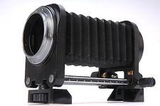 Pour Minolta MD MC mount SLR Macro soufflet avec trépied