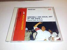 NUSRAT FATEH ALI KHAN Qawwali: The Vocal Art Of Sufis I JAPAN CD VICG-5030 1990