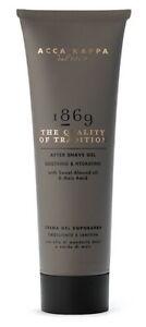Aftershave Gel 1869 4.2oz Almond Oil Mais-Extrakt Vitamin A & E - Acca Kappa