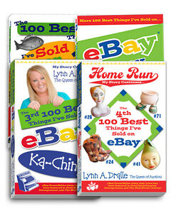 All 4 100 Best Things I've Sold on eBay Books Series Lynn Dralle How to Sell NEW