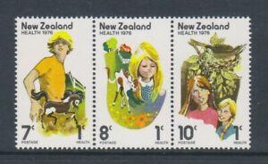 New Zealand - 1976, Health Stamps set - MNH - SG 1125/7