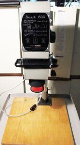 Ingranditore Camera Oscura Durst 609 con e con tubi aggiuntivi per altri formati