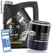 5L Mannol O.E.M. 7705 5W-30 ÖL + Ölfilter  für Honda / Mitsubishi / Opel / Fiat