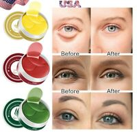 120Pc Collagen Eye Pads Under Eye Patch Gel Pad Anti-Wrinkle Dark Circles Bags