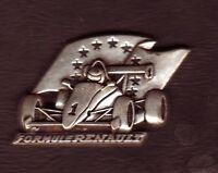 Pin's Arthus Bertrand rare F1 renault
