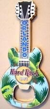 Hard Rock Cafe ORLANDO 2009 Guitar MAGNET Bottle Opener - City Icons PALM TREES