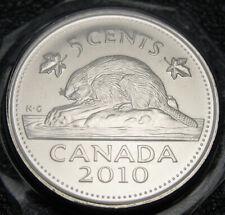 RCM - 2010 - 5-cents - BU - Sealed in original hard plastic