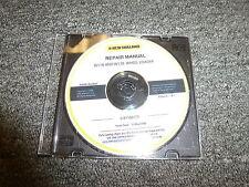 New Holland Models W110 & W130 Wheel Loader Shop Service Repair Manual CD