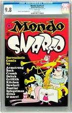 MONDO SNARFO COMICS, CGC 9.6 (HIGHEST), 1ST, ROBERT CRUMB, UNDERGROUND COMIX