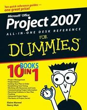Microsoft Office Project 2007 All-in-One Desk Reference For Dummies-ExLibrary