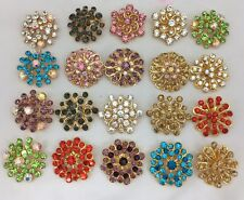 New Brooch,Hijab, Scarf, Abaya, Hat Pins Set Of 12 Pc Different Design For £4.99