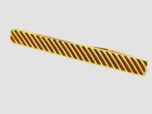 Bijou Pl or GAL  plaqué or 18 carats pince à cravate