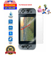 New Nintendo Switch Premium Tempered Ultra Clear Glass Screen Protector USA