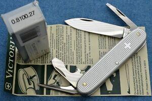 c1998 vtg NOS Victorinox TECHNICIAN OLD CROSS ALOX Swiss Army Knive NEW IN BOX