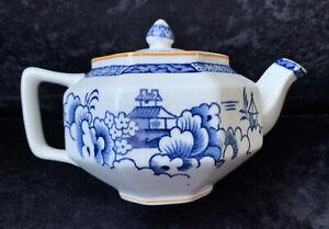 "Art Deco Woods Ware ""Alva"" Octagonal Teapot - Small Size"