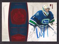 2010-11 Dominion Signatures Ruby #94 Roberto Luongo Auto /50 Vancouver Canucks