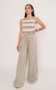 TRICOT CHIC Women's Jumpsuit Size S / 42 IT Linen Blend Made In Italy